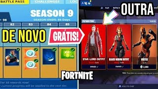 BATTLE PASS 9 ET LORD OF THE STARS IN THE FORTNITE STORE!