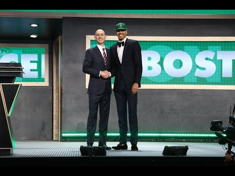 Download Youtube: Jayson Tatum Drafted 3rd Overall By Boston Celtics in 2017 NBA Draft