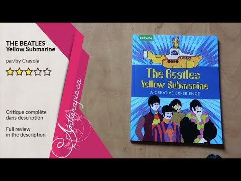 the beatles yellow submarine coloring book by parragon and crayola flip through premiere - Beatles Coloring Book