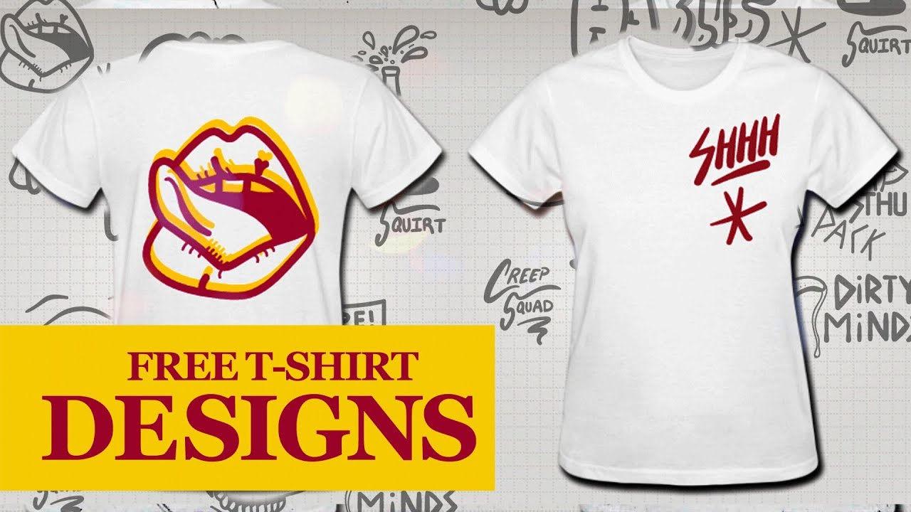 How to design a custom t shirt online using my free vector for Design online