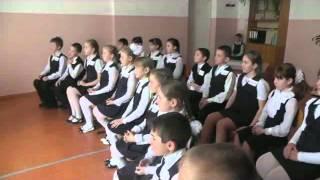 Видеозапись урока в 4 классе тема Музыкальные инструменты