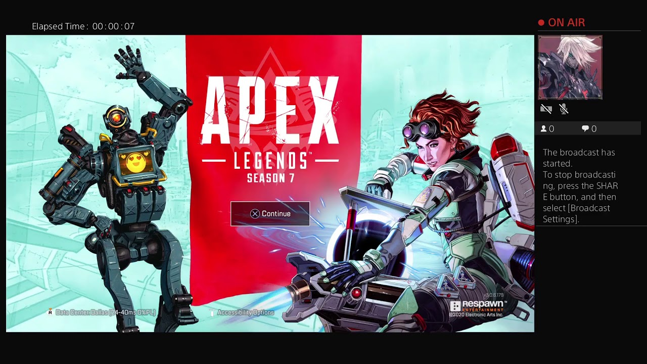 Quick Apex Stream befor it crashes. Pt 2