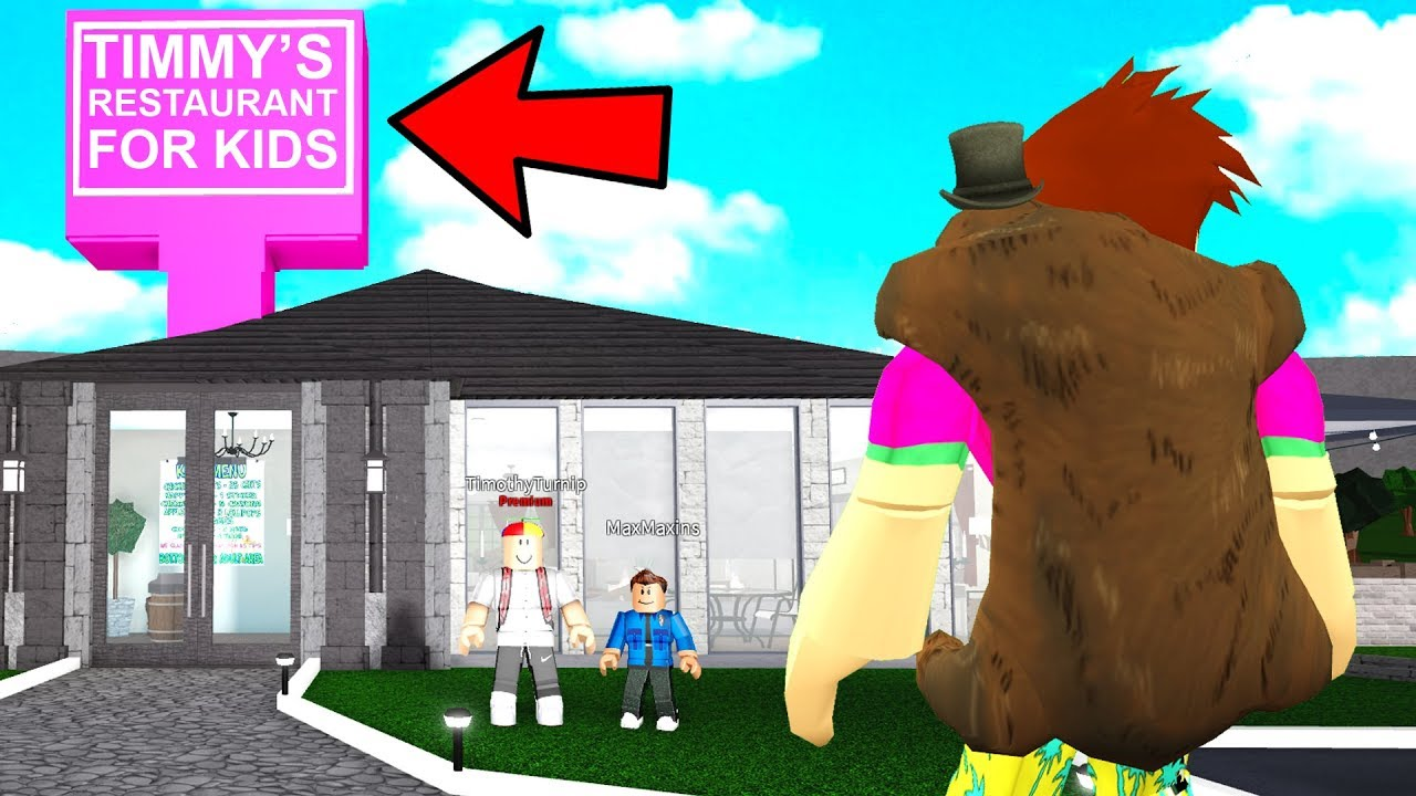 NEVER Go Into A KIDS Restaurant   They Scammed ADULTS! (Roblox Bloxburg)