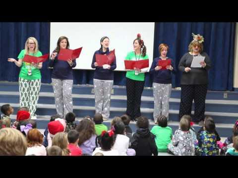 Twelve Days of Christmas:  Key Elementary Teacher version