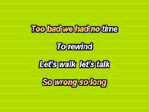 Too bad dei Nickelback - karaoke