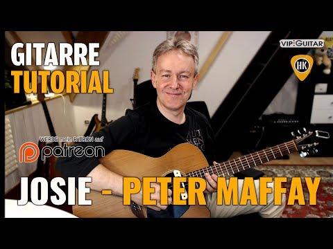 Gitarre Tutorial: Josie - Peter Maffay