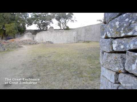 The Great Enclosure at Great Zimbabwe (World Heritage Site)