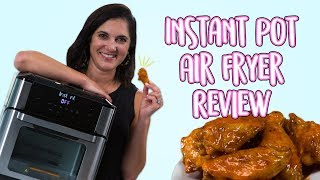 Instant Pot Has An Air Fryer Y'all! | Instant Vortex Plus Air Fryer Oven Unboxing and Review