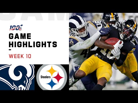 Rams vs. Steelers Week 10 Highlights | NFL 2019