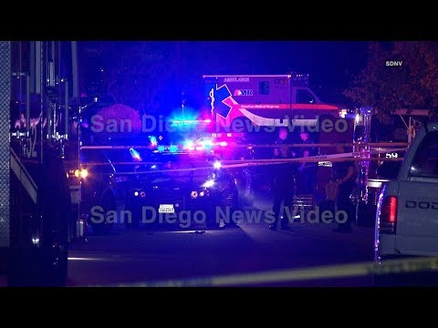 Chula Vista Police officer stabbed several times before suspect is shot & killed, Chula Vista