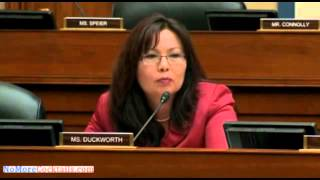 Rep Tami Duckworth blasts Braulio Castillo who got IRS contracts reserved for veterans