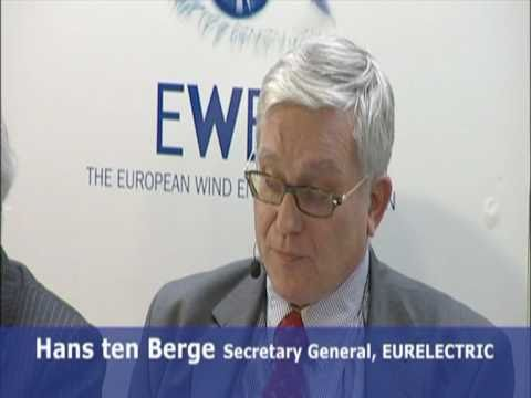 Hans ten Berge, Secretary General, The Union of the Electricity Industry, EURELECTRIC