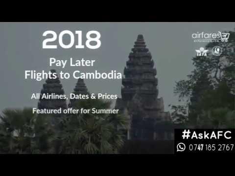 Cheap Flights To Cambodia.