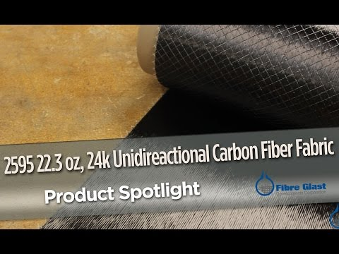 Unidirectional Carbon Fabric (22.3 oz)