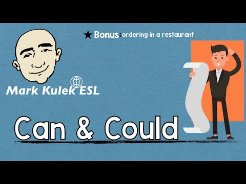 Can & Could - Request, Permission, Ability + More   Mark Kulek - ESL