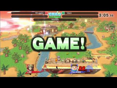 JRWI! 6.5 Chao Garden Arcadian - Struggler(Link) vs Veen (Villager)