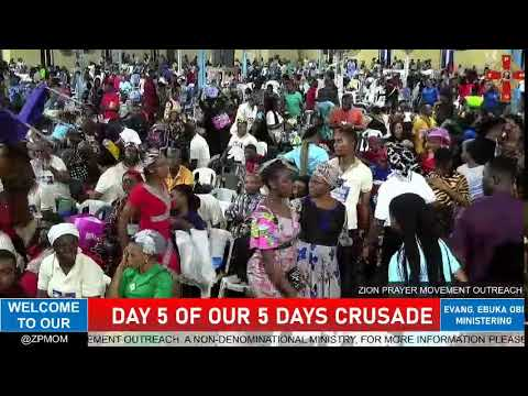 Download DAY 5 OF OUR 5 DAYS CRUSADE (SEPTEMBER 25, 2021)