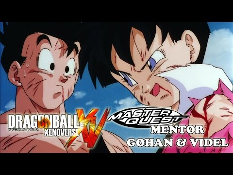 Mentor Gohan and Videl Master Quest Training - Dragon Ball Xenoverse