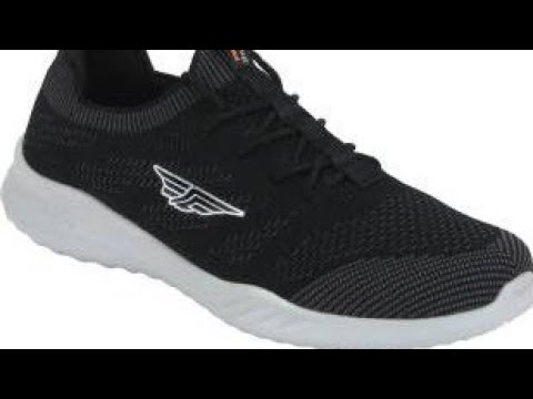 Red Tape Men's Black Running Shoes