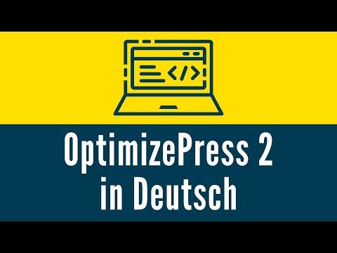 Optimize Press 2 in Deutsch (WordPress Plugin)