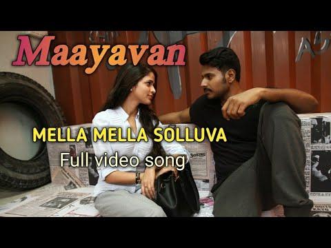Mella Mella Sollava|Maayavan 2017 |Sundeep...