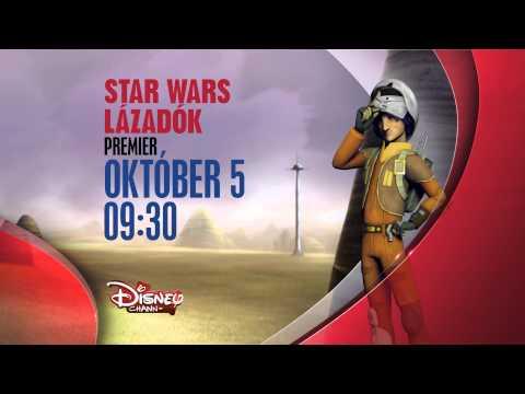 youtube filmek - Star Wars: Lázadók - Premier október 5-én, vasárnap 9.30-kor csak a Disney Csatornán!
