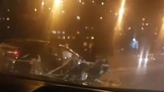 Во Владивостоке автомобилист встретил новый год в ДТП