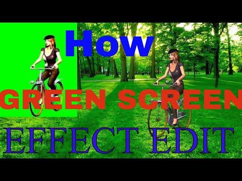 GREEN SCREEN EFFECT ON BACKGROUND EDIT || SRINIVAS Mech|| thumbnail