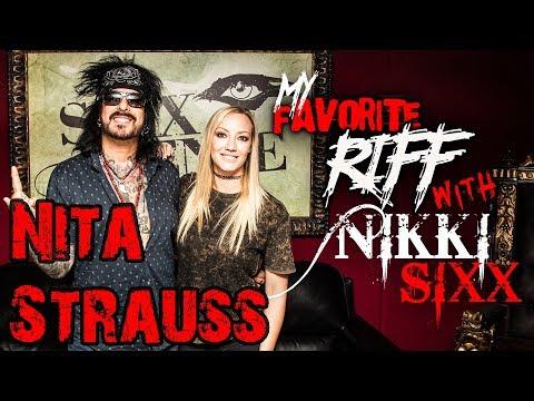 My Favorite Riff with Nikki Sixx: Nita Strauss (Alice Cooper)
