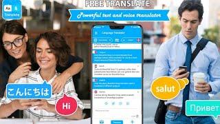 Free Translate All Language Translator Apps 2021   How To Use Free Translator Apps 2021 Bangla screenshot 2