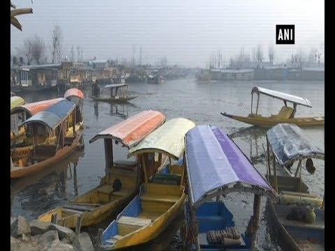 Jammu and Kashmir's Srinagar shivers due to sub-zero temperature