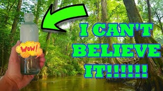 AMAZING RIVER TREASURE FOUND!! | 130 YEAR OLD VALUABLE BOTTLES! | CLEANING ANTIQUE BOTTLES