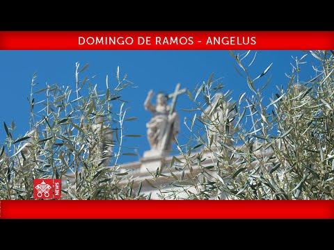 Celebração Do Domingo De Ramos-Oração Do Angelus 5 Abril 2020 Papa Francisco