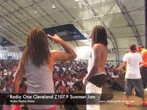 Waka Flocka At Summer Jam