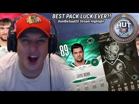 MY BEST PACK LUCK YET! INSANE EVO PULL IN A GOLD PLUS PACK! | DontBeSaad20 Stream Highlights #3