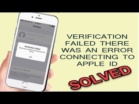 Verification Failed Error Connecting To Apple ID Server? Here's The Fix.