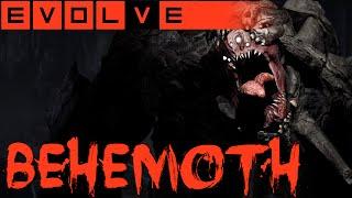 EVOLVE BEHEMOTH GAMEPLAY - Ich spiele das neue Monster - Behemoth Gameplay German