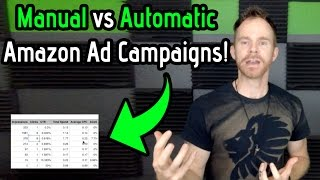 Manual versus Automatic Campaign Ads on Amazon