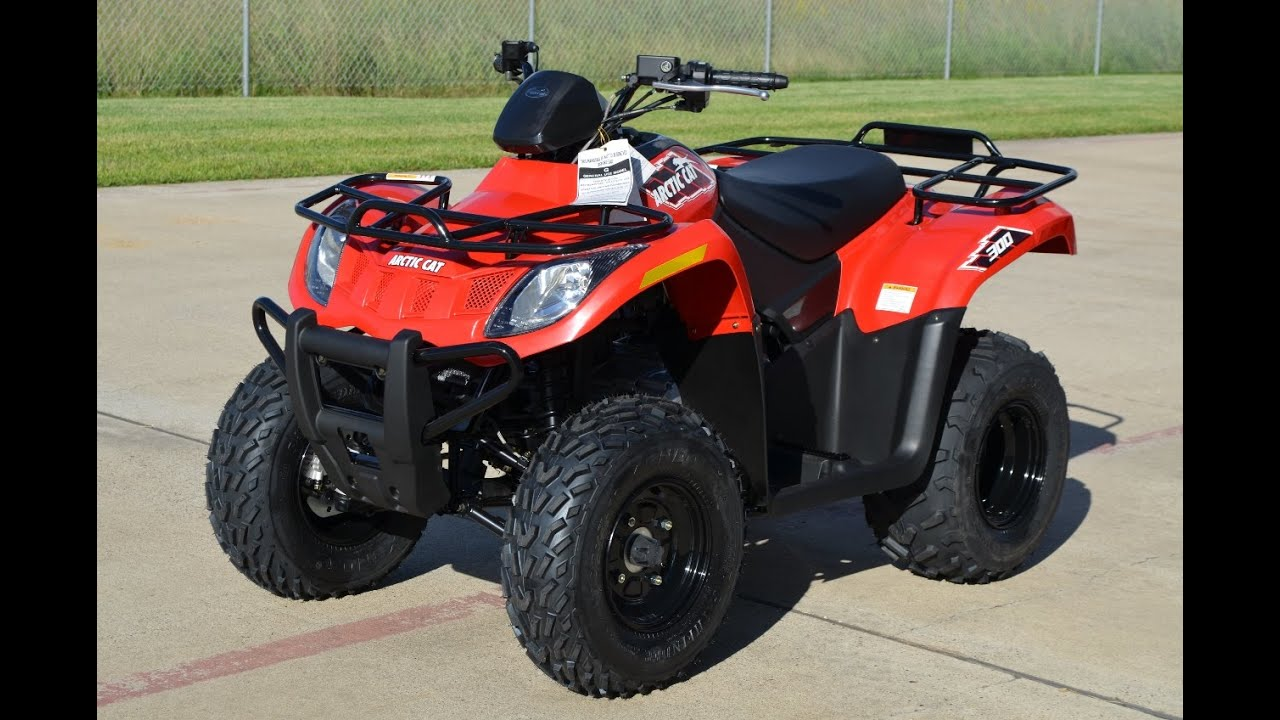 4 299 2015 arctic cat 300 atv 4 wheeler overview and review youtube. Black Bedroom Furniture Sets. Home Design Ideas