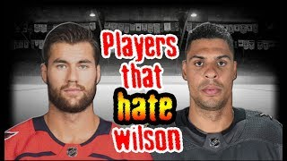 Tom Wilson/His Top 5 HATERS