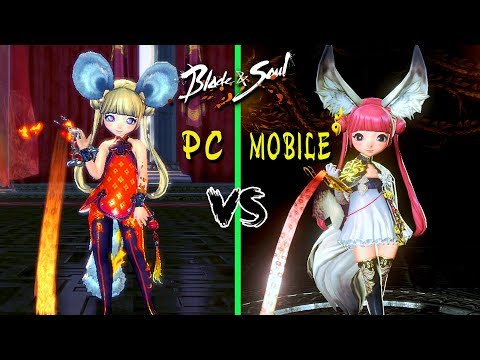 Blade & Soul: PC vs Mobile – Comparison Graphics and Gameplay