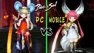 Blade & Soul: PC vs Mobile - Comparison Graphics and Gameplay