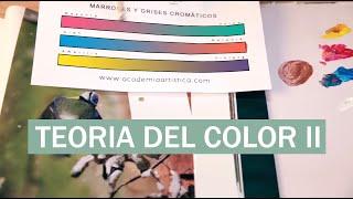 teoria color II. Conseguir colores complejos