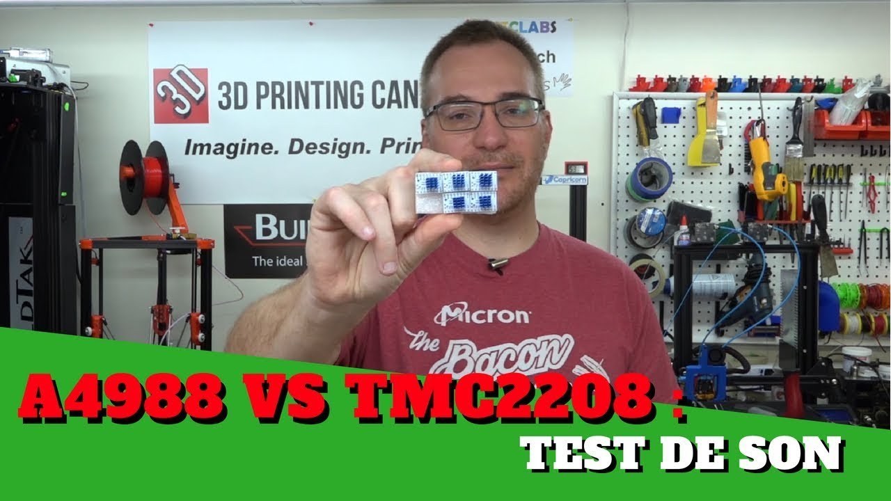 Driver A4988 VS TMC2208 : Test de son !