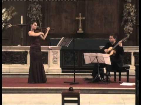 Nazrin Rashidova and Stanislav Hvartchilkov | Bach - Sonata BWV 1020