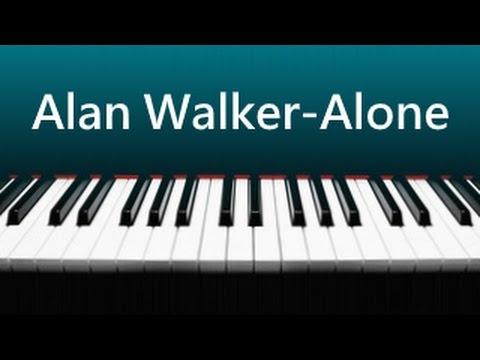 Alan Walker - Alone 鋼琴版 ( 含琴譜下載 )