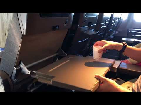 China Airlines Premium Economy Class LAX to TPE Boeing 777-300ER