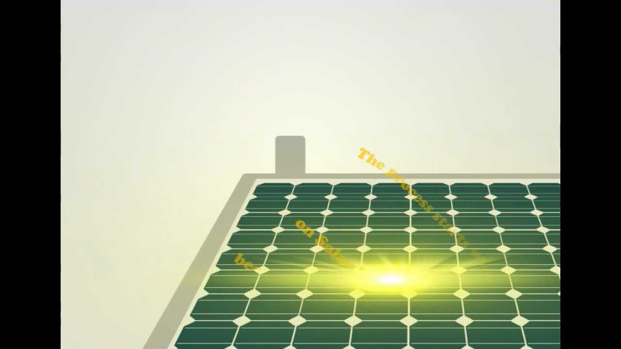 How Solar Panels Work Youtube Power Works Diagram Does
