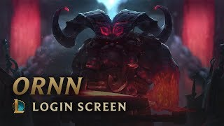 Ornn, the Fire below the Mountain | Login Screen - League of Legends