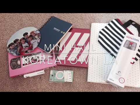 Koreatown LA Mini Haul // Daiso + Music Plaza (KPOP)